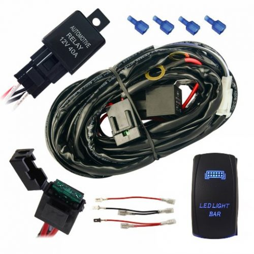 premium led light wiring harness southern style offroad. Black Bedroom Furniture Sets. Home Design Ideas