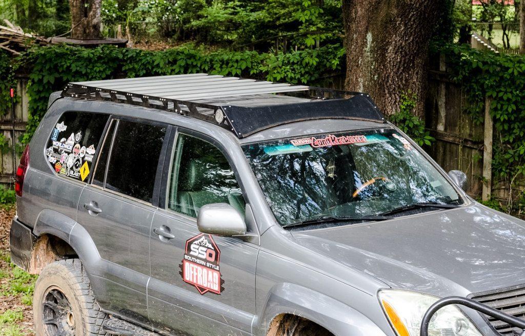 03 09 Lexus Gx470 Aluminium Roof Rack For Sale Sso