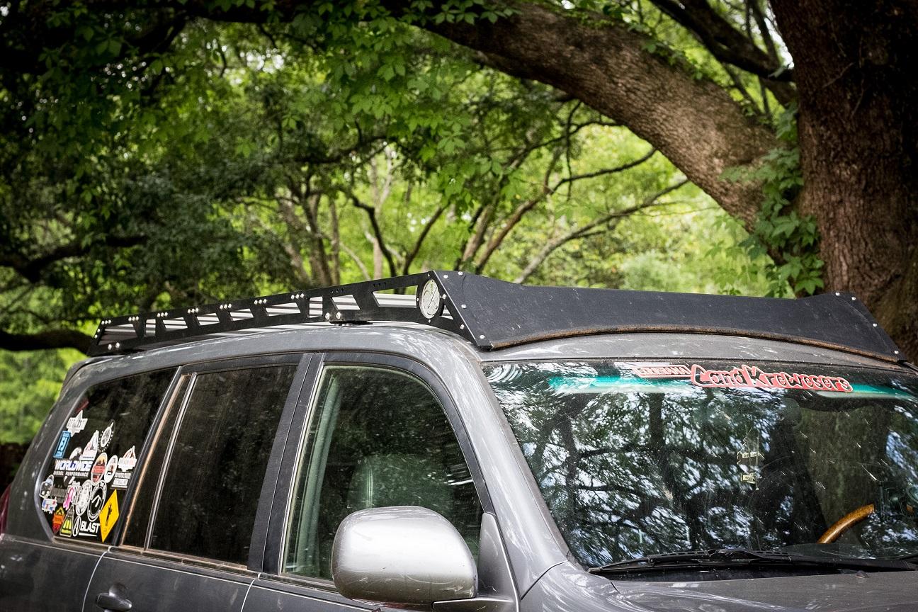 Lexus GX470 Aluminum Roof Rack