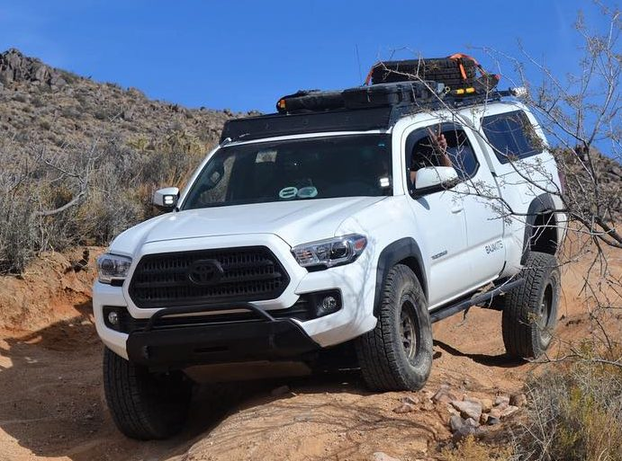2016 Toyota Tacoma Low Profile Front Bumper Southern