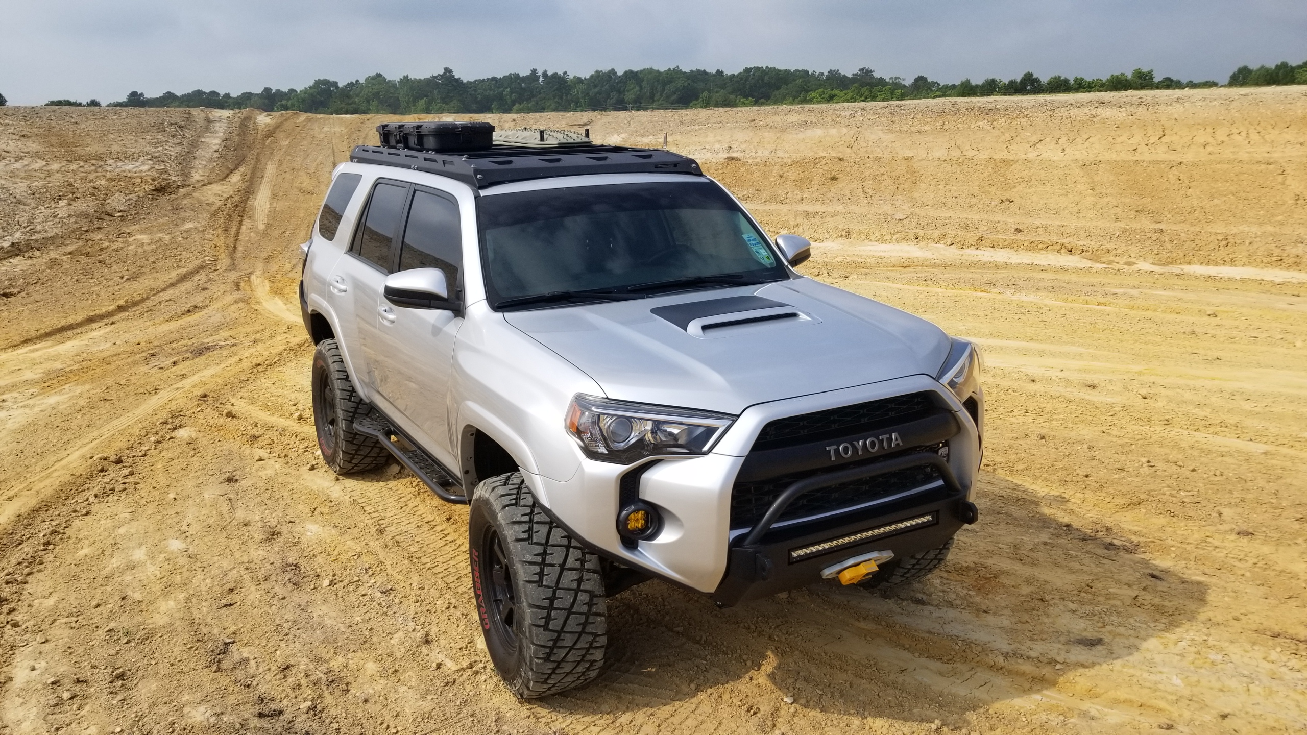 2014 Southern Style Offroad Toyota 4runner Winch Bumper