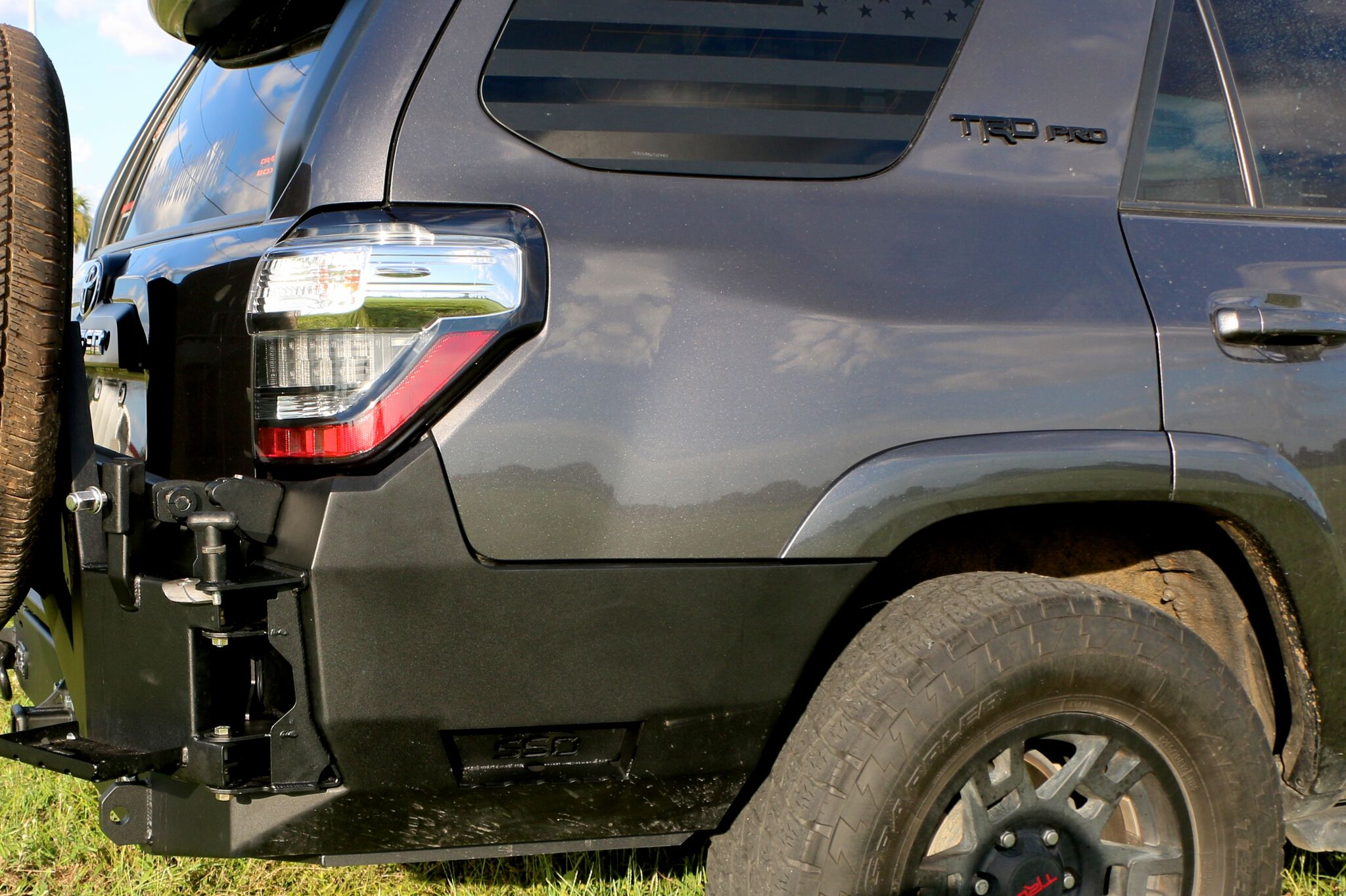 5th Gen 4runner V2 0 Rear Bumper With Trailgator